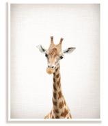 mavisBLUE Lil Darlings Giraffe Top Half Print