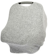 aden+anais Snuggle Knit Multi-use Cover Heather Grey