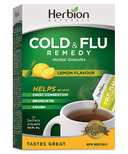 Herbion Cold & Flu Remedy Herbal Granules Lemon Flavour