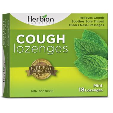 Herbion Cough Lozenges Mint