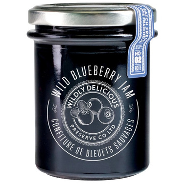 Wildly Delicious Wild Blueberry Jam