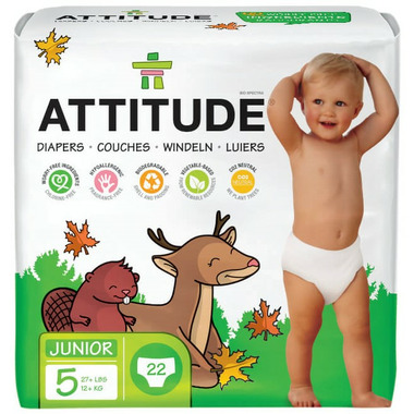 ATTITUDE Eco Baby Diapers