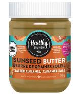 Beurre de graines soleil au caramel salé de Healthy Crunch