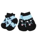 Little Blue House Baby Socks 2Pack - Labs