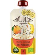Rudolfs Organic Peach Banana Oat Porridge