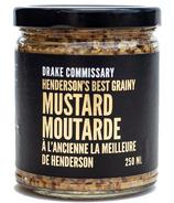 Drake Commissary Henderson's Best Grainy Mustard