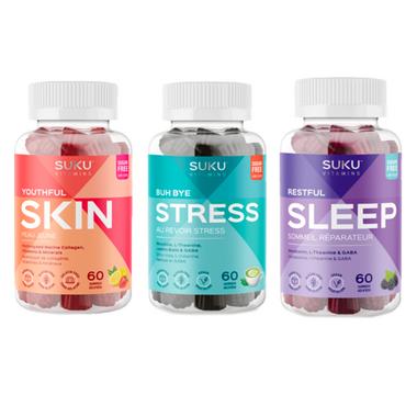 SUKU Vitamins Stress & Sleep Bundle