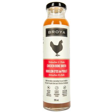 Broya Sriracha & Chili Chicken Bone Broth