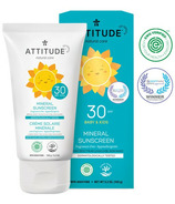 ATTITUDE Little Ones Sensitive Skin 100% Mineral Sunscreen SPF 30