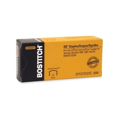 Stanley-Bostitch B-8 Staples