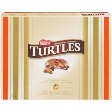 Turtles Holiday Chocolate Box