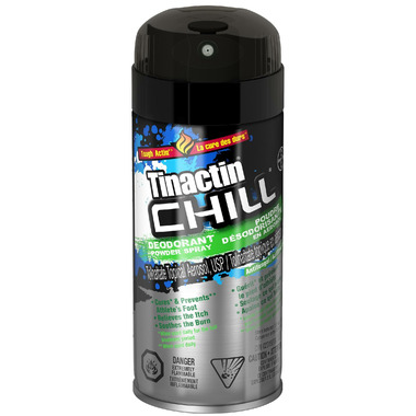 Tinactin Chill Deodorant Powder Spray