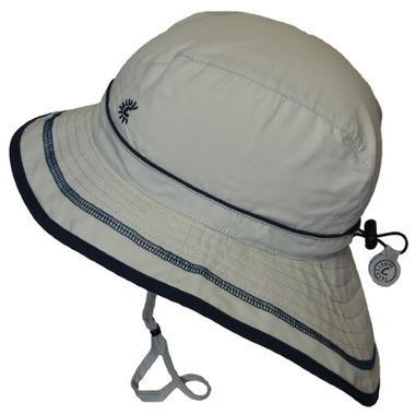 Calikids Quick-Dry Bucket Hat Extra Wide Brim Quiet Grey
