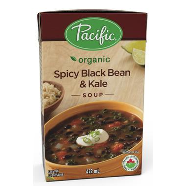 Pacific Organic Spicy Black Bean & Kale Soup