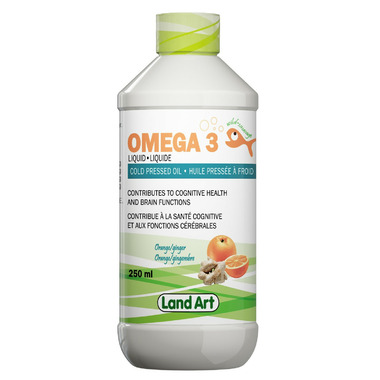 Land Art Omega 3 Liquid