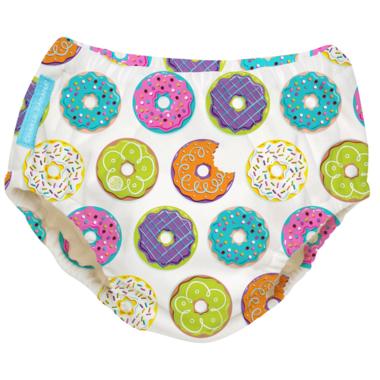 Charlie Banana 2-in-1 Swim Diaper & Training Pant Donuts XL