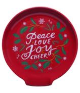 Now Designs Printed Spoon Rest Peace & Joy