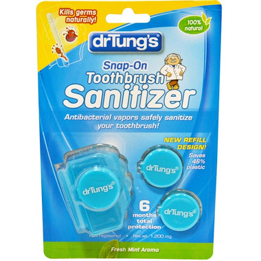 Dr. Tung\'s Snap-On Toothbrush Sanitizer