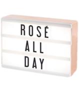 My Cinema Lightbox Rose Gold Micro Mini