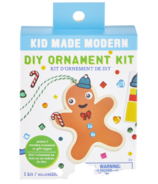 Kid Made Modern Wooden Gingerbread Ornament Kit