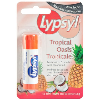 Lypsyl Tropical Oasis Lip Balm with Coconut Oil