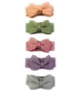 Baby Wisp Small Snap Chic Bows Watercolours
