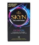 LifeStyles Skyn Excitation Condoms en polyisoprène synthétique