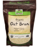 NOW Real Food Organic Oat Bran