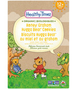 Healthy Times Organic Honey Graham Hugga Bear Cookies