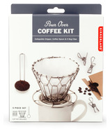 Kikkerland Pour Over Coffee Set