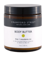 Crawford Street Skin Care Body Butter Lime + Macadamia Nut