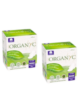 Organ(y)c 100% Organic Cotton Pads with Wings Bundle