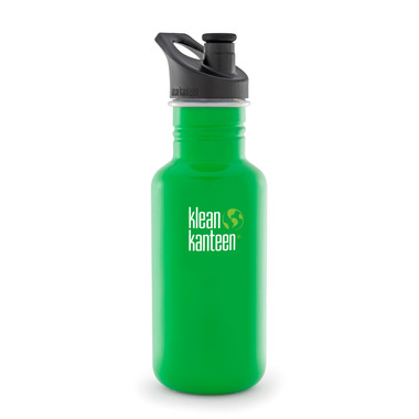 Klean Kanteen Classic Water Bottle with Sport Cap 3.0 Organic Garden