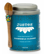 JusTea Loose Leaf Herbal Tea Chamomile Cleanse