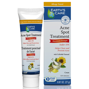 Earth\'s Care Acne Spot Treatment Cream