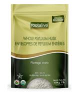 Rootalive Enveloppes de Psyllium Biologique Entières