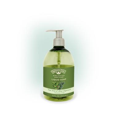 Nature\'s Gate Tea Tree & Blue Cypress Liquid Soap