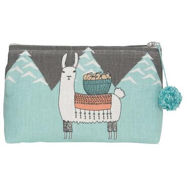 Danica Studio Llamarama Small Cosmetic Bag