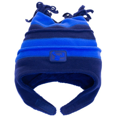 Calikids Two Tone Microfleece Hat Skydiver & Navy