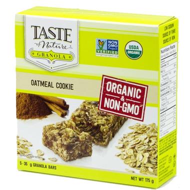 Taste of Nature Organic Granola Bar