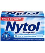 Nytol Sleep Aid Extra Strength Easy to Swallow Caplets