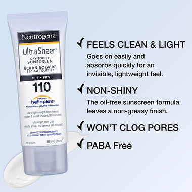 Neutrogena Ultra Sheer Dry Touch Sunscreen SPF 110