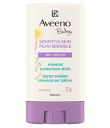 Aveeno Baby Sensitive Skin SPF 50 Mineral Sunscreen Stick