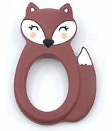 Little Cheeks Fox Teether Rust