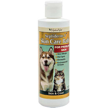 Naturvet Septiderm-V Skin Care Bath