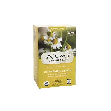 Numi Organic Chamomile Lemon Tea