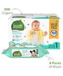 Seventh Generation Diaper & Wipes Bundle Size 1