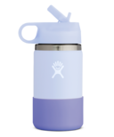 Hydro Flask Kids Wide Mouth 2.0 with Straw Lid Fog Periwinkle