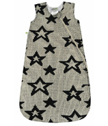 Perlimpinpin Chenille Sleep Bag Black Stars