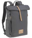 Lassig Rolltop Backpack Diaper Bag Anthracite
